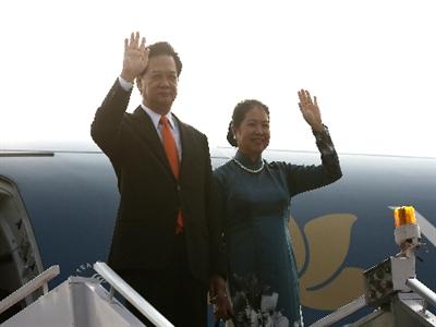 Thủ tướng Nguyễn Tấn Dũng thăm Ấn Độ
