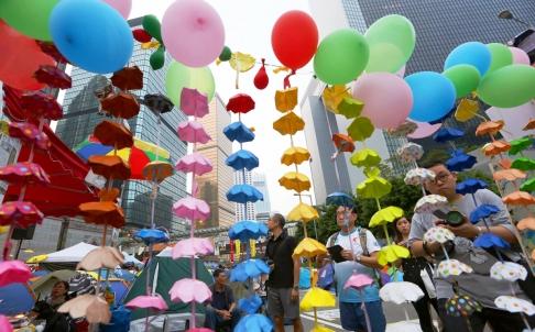 Lãnh đạo biểu tình Hong Kong đột ngột ngừng cuộc bỏ phiếu