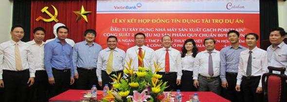 VietinBank cho vay 360 tỷ đồng xây nhà máy sản xuất gạch