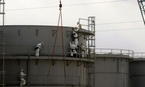 Lò phản ứng hạt nhân ở Fukushima bị thủng lớn