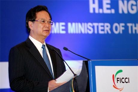 Thủ tướng dự Diễn đàn Thương mại và Đầu tư Việt Nam-Ấn Độ