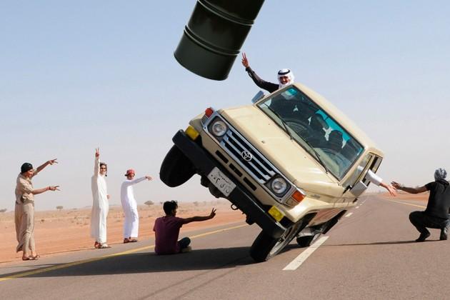 Màn kịch giá dầu đầy may rủi của Arab Saudi