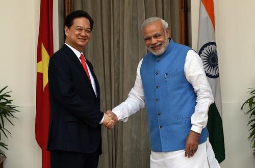 Việt Nam - Ấn Độ cam kết tăng cường hợp tác
