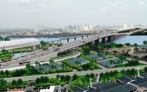 Quận 2 thu hồi hơn 65.000 m2 xây dựng công viên vòng xoay chân cầu Sài Gòn
