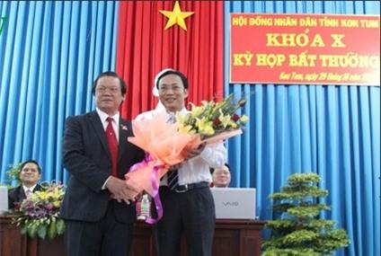 Tỉnh Kon Tum có Phó Chủ tịch UBND mới