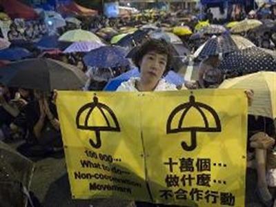 Người biểu tình Hong Kong đòi đối thoại với Thủ tướng Trung Quốc