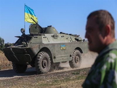 Kiev rút khỏi hiệp định phân giới với Donetsk, EU dọa trừng phạt Nga