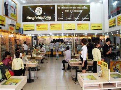 Doanh thu mỗi cửa hàng thegioididong.com hơn 4 tỷ đồng/tháng