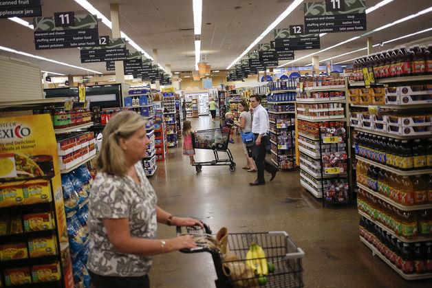 Chi tiêu tiêu dùng Mỹ bất ngờ giảm trong tháng 9
