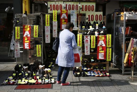 Nhật Bản có nguy cơ trở lại thời kỳ giảm phát