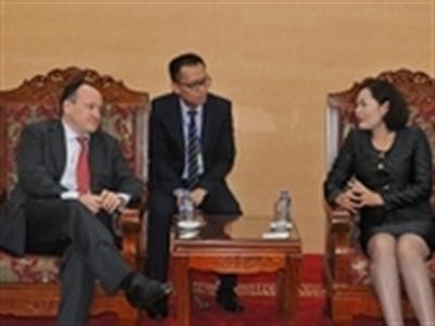Pháp muốn tăng cường hợp tác với các ngân hàng Việt Nam