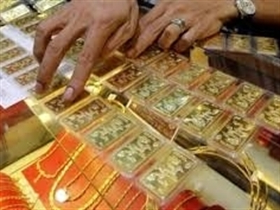 Giá vàng SJC xuống thấp nhất 9 tháng, cao hơn thế giới 5,5 triệu đồng/lượng