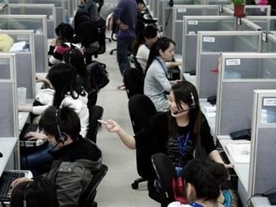 PMI dịch vụ Trung Quốc thấp nhất 3 tháng
