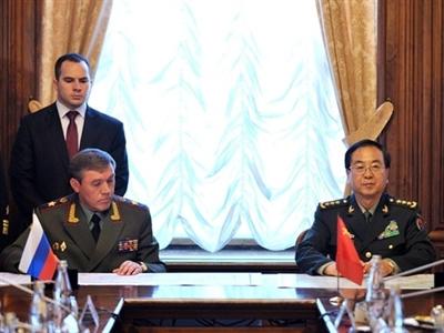 Nga, Trung Quốc nhất trí nhiều dự án hợp tác quân sự quan trọng
