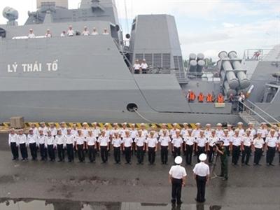 Biên đội tàu chiến Việt Nam thăm 3 nước Đông Nam Á