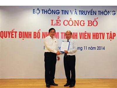 Bổ nhiệm Thành viên Hội đồng Thành viên VNPT