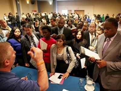 Mỹ: Tỷ lệ thất nghiệp xuống 5,8%, thấp nhất 6 năm