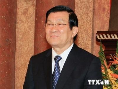 Chủ tịch nước bắt đầu tham dự Hội nghị cấp cao APEC 2014