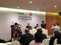 Mondelẽz sẽ chi 370 triệu USD mua 80% mảng bánh kẹo của Kinh Đô