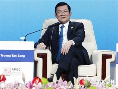 """Phát biểu của Chủ tịch nước về """"Thúc đẩy liên kết kinh tế khu vực"""