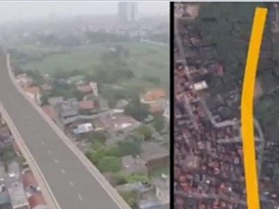 Chính phủ yêu cầu Hà Nội kiểm tra tuyến đường cong bất thường