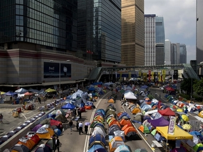 Hong Kong sẵn sàng dẹp biểu tình