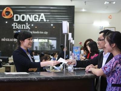 Tăng trưởng tín dụng của một số ngân hàng vẫn âm