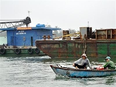 Bố trí vốn thực hiện nạo vét luồng vào cảng Kỳ Hà, Quảng Nam