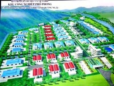 Dự án KCN Phổ Phong: Quảng Ngãi chỉ trả gần 1 tỷ đồng cho Tân Tạo