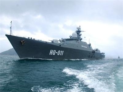 Chiến hạm Việt Nam thăm xứ sở vạn đảo