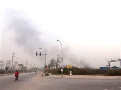 Cháy nổ lớn tại khu công nghiệp của Bộ Công an