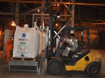 Đạm Phú Mỹ xuất khẩu 500 tấn sang New Zealand theo hình thức đóng bao jumbo