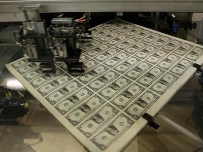 Bên trong nhà máy in tiền