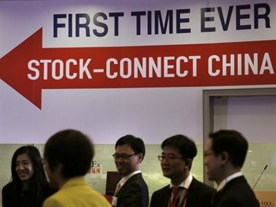 Liên kết giao dịch Thượng Hải - Hong Kong nhanh chóng giảm