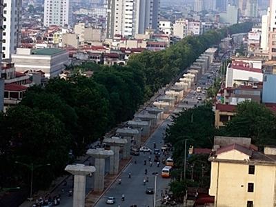 Hà Nội nâng cấp tuyến đường cửa ngõ vào trung tâm thành phố