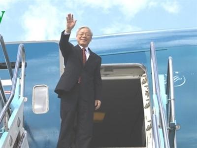 Tổng Bí thư Nguyễn Phú Trọng sẽ thăm chính thức Nga