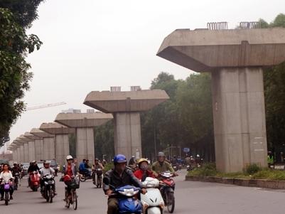 Lại xin lùi tiến độ đường sắt Cát Linh - Hà Đông
