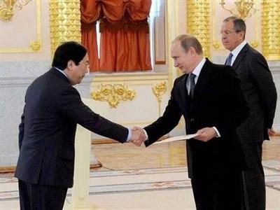 Tổng thống Putin: Nga luôn sát cánh cùng Việt Nam