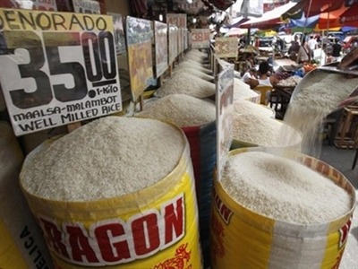 Giá gạo nội địa Philippines tháng 9 diễn biến trái chiều