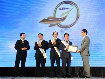 Sacombank là ngân hàng điện tử được yêu thích nhất tại Việt Nam năm 2014