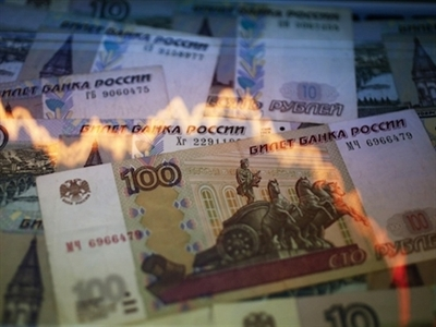 Chỉ số Micex của Nga lên cao nhất năm 2014, ruble phục hồi