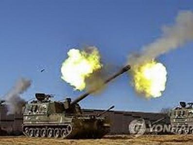 Hàn Quốc tập trận bắn đạn thật gần đường hải giới liên Triều