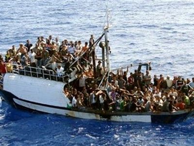 Cảnh sát biển Italy và Libya cứu gần 800 người nhập cư
