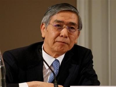 Thống đốc BOJ giữ vững lập trường tăng cường kích thích