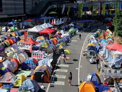 Chính quyền Hong Kong ra tối hậu thư cho người biểu tình