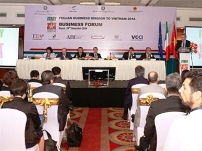 Phái đoàn 100 doanh nghiệp Italy đến Việt Nam