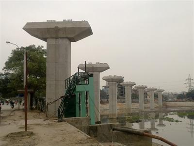 Hoàn thành giải phóng mặt bằng khu Đề pô đường sắt đô thị Nhổn - Ga Hà Nội trước 30/1/2015