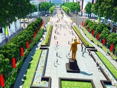 TPHCM lo ngại nhu cầu gửi xe tăng cao khi có phố đi bộ Nguyễn Huệ