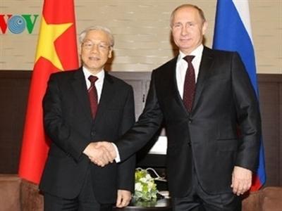 Tăng cường quan hệ đối tác chiến lược toàn diện Việt Nam - LB Nga