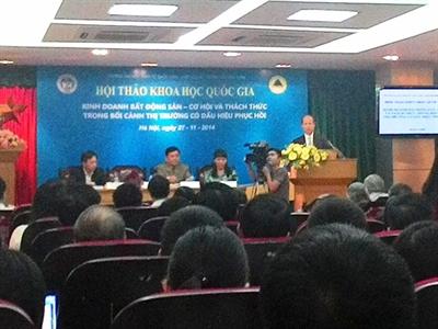 Thứ trưởng Nguyễn Trần Nam: Thị trường bất động sản đang trên đà phục hồi